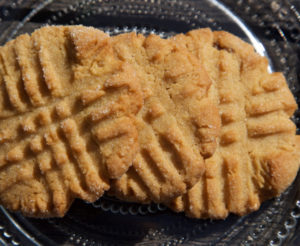 PB Cookie Criss Cross
