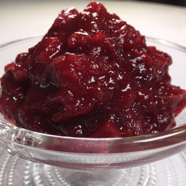 Cranberry-Orange Apple Relish