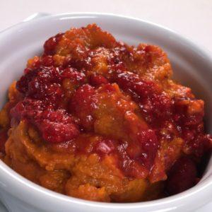 Carrot Raspberry Puree