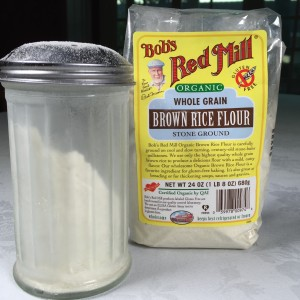 Rice Flour & Shaker