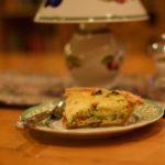 Mushroom-Cheddar Quiche